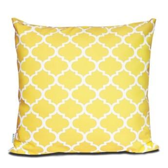 Poszewka bawełniana Maroko żółte 60x60