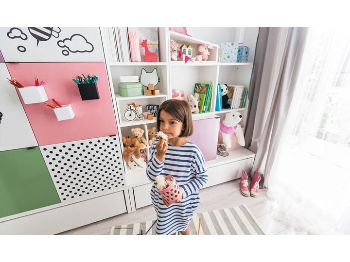 Szafa 2-drzwiowa Kolor Biały Płyta MDF Kategoria Szafy do garderoby