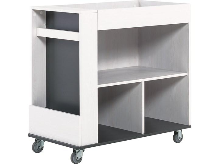 Kontenerek z półkami (do łóżka multi) Pomieszczenie Biuro i pracownia Drewno Płyta MDF Kategoria Szafki i regały
