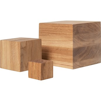 Klocki drewniane kpl 3 szt