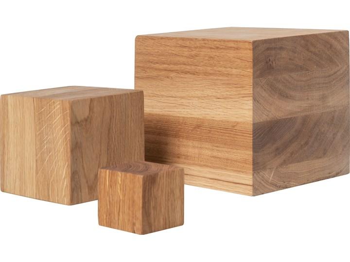 Klocki drewniane kpl 3 szt Drewno Abstrakcja Kategoria Figury i rzeźby