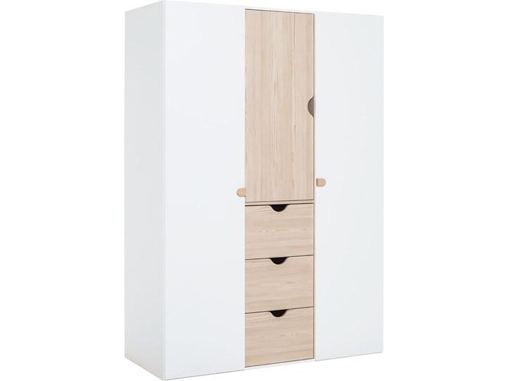 Szafa 3-drzwiowa Drewno Kolor Biały Kategoria Szafy do garderoby