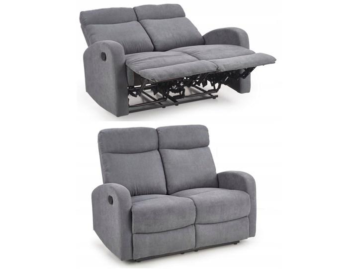 Sofa Rozkładana OSLO 2S Wypoczynkowa Popiel HALMAR Szerokość 128 cm Głębokość 95 cm Kategoria Sofy i kanapy