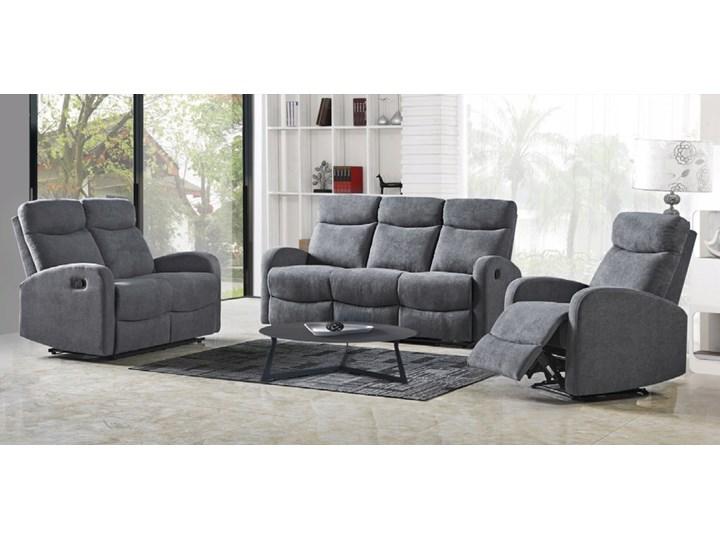 Sofa Rozkładana OSLO 2S Wypoczynkowa Popiel HALMAR Pomieszczenie Salon Głębokość 95 cm Szerokość 128 cm Typ Gładkie