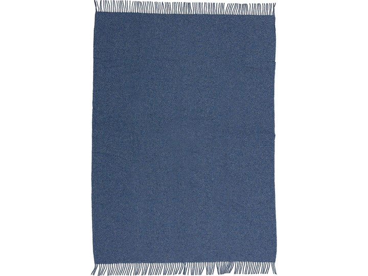 Pled Zelandia 140x200 melange blue, 140 x 200 cm 140x200 cm 130x180 cm Wełna Pomieszczenie Sypialnia Kolor