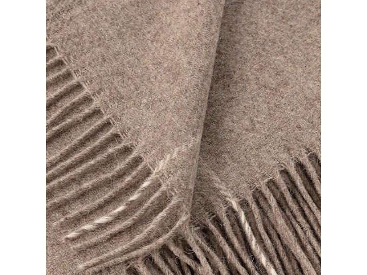 Pled Zelandia 140x200 check natural, 140 x 200 cm 140x200 cm Wełna 130x180 cm Pomieszczenie Salon Kategoria Koce i pledy