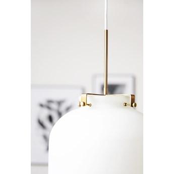 Lampa wisząca Ball ∅30x35 cm biała
