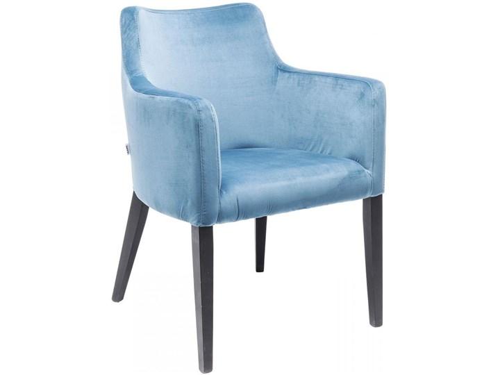 Krzesło z podłokietnikami Mode Velvet 60x87 cm turkusowe Wysokość 60 cm Szerokość 60 cm Z podłokietnikiem Tkanina Drewno Wysokość 70 cm Pomieszczenie Biuro i pracownia Tapicerowane Głębokość 70 cm Welur Styl Nowoczesny