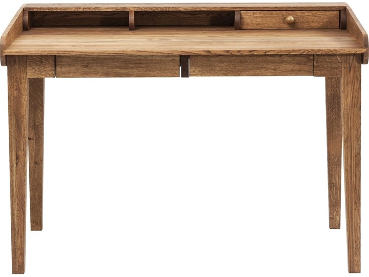 Sekretarzyk Attento 118x70 cm drewniany Szerokość 118 cm Drewno Styl Vintage Styl Skandynawski
