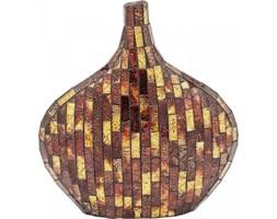 Wazon Mosaico 30x33 cm brązowy