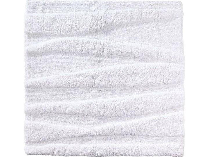 Dywanik łazienkowy Flow 65x65 cm biały Prostokątny Bawełna Kategoria Dywaniki łazienkowe