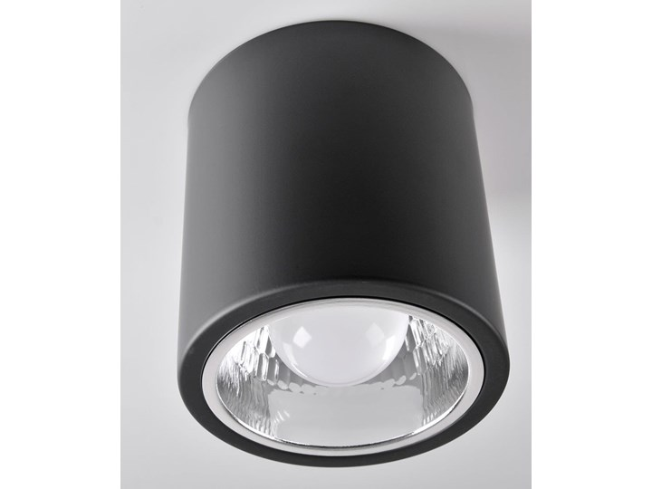 Jupiter 13 lampa sufitowa natynkowa tuba 1xE27 czarna Oprawa stropowa Oprawa led Kolor Czarny