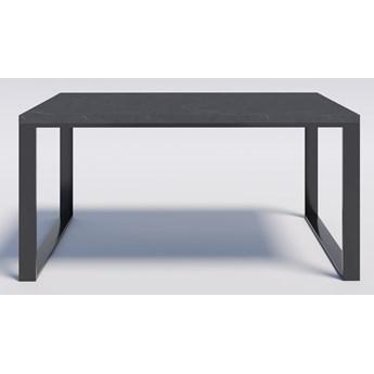 Solidny i elegancki stół modern loft RENO 180/90 Efekt kamienny