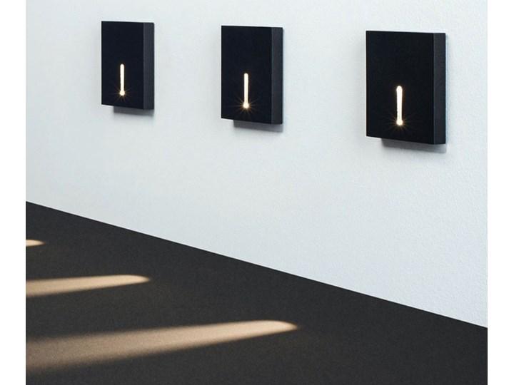 Schodowa oprawa LED CHORS CORO IN : Temperatura barwowa - 4000K, Kolor obudowy - czarny
