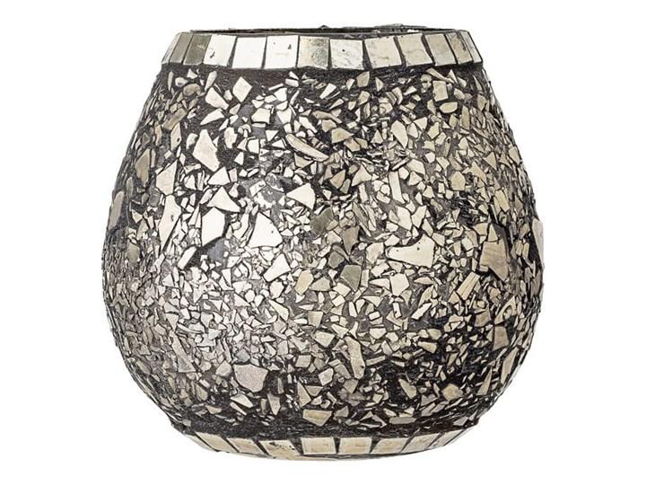LAMPION SILVER LASS BLOMINGVILLE 11x10,5 cm Kolor Srebrny