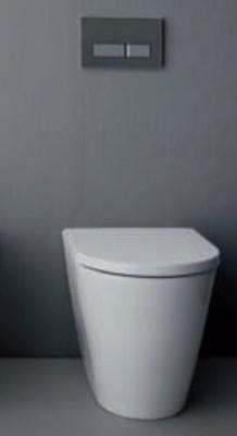 laufen kartell miska wc stoj ca 37x56 cm przy cienna ze szkliwieniem lcc bia a h8233314000001. Black Bedroom Furniture Sets. Home Design Ideas