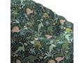 Worek do siedzenia Bowli, Dinozaury na zielonym tle, Ø80 × 115 cm, Magic Collection Tkanina Pomieszczenie Pokój przedszkolaka Zwierzak Kategoria Pufy