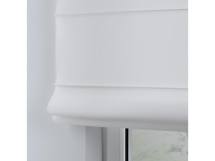 Roleta rzymska Billie, śmietankowa biel, szer.100 × dł.170 cm, Happiness Kolor Biały