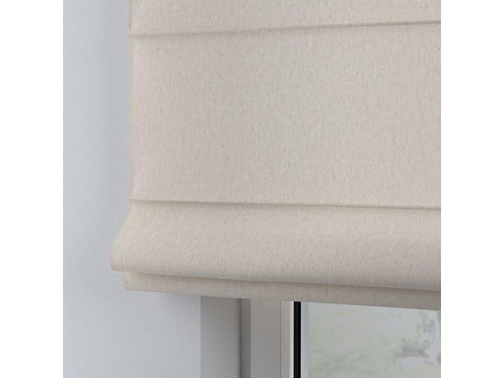 Roleta rzymska Billie, melanż szaro-beżowy, szer.80 × dł.170 cm, Happiness Wzór Dla dzieci Kategoria Rolety