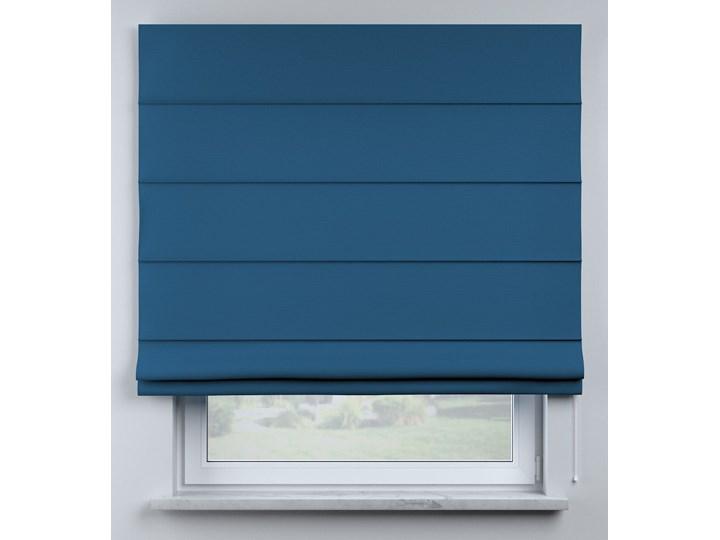 Roleta rzymska Billie, Ocean Blue (morski niebieski), szer.100 × dł.170 cm, Cotton Story Wzór Dla dzieci Kategoria Rolety