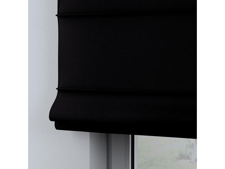 Roleta rzymska Billie, Black (czarny), szer.160 × dł.170 cm, Cotton Story Wzór Dla dzieci Kategoria Rolety