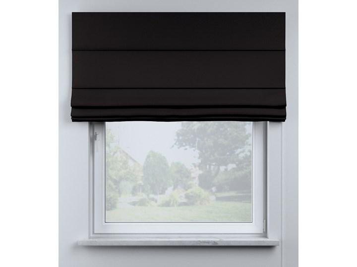 Roleta rzymska Billie, Black (czarny), szer.160 × dł.170 cm, Cotton Story Pomieszczenie Pokój przedszkolaka