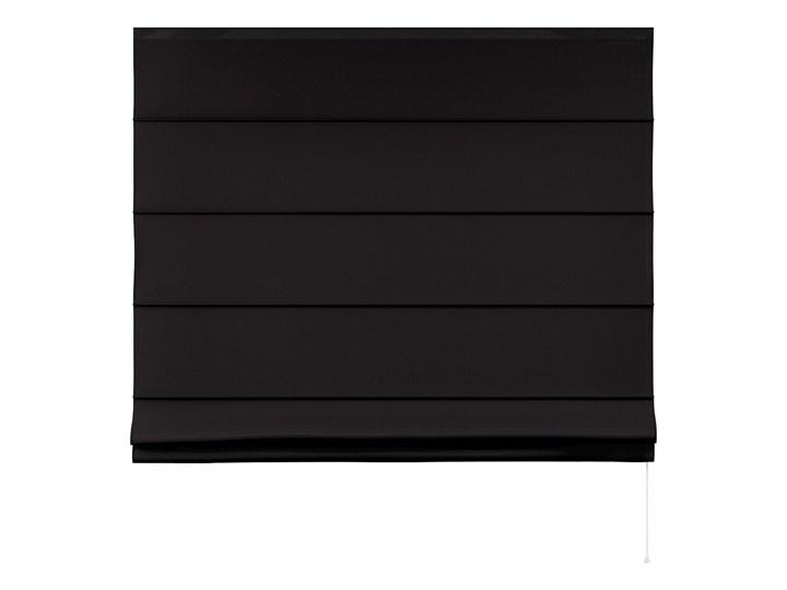 Roleta rzymska Billie, Black (czarny), szer.160 × dł.170 cm, Cotton Story Kategoria Rolety