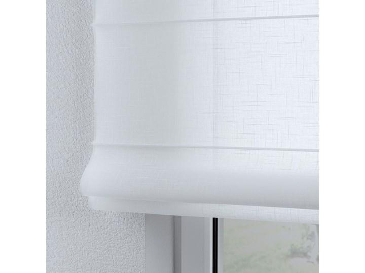 Roleta rzymska Billie, prześwitująca, biała, szer.100 × dł.170 cm, Sweet Secret Wzór Dla dzieci