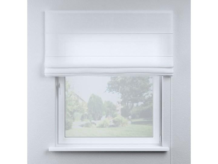 Roleta rzymska Billie, prześwitująca, biała, szer.100 × dł.170 cm, Sweet Secret Typ Roleta transparentna Kolor Biały