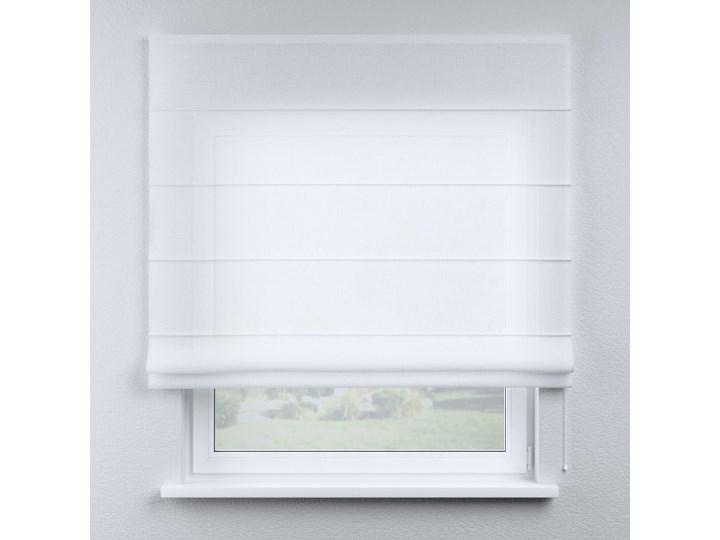 Roleta rzymska Billie, prześwitująca, biała, szer.100 × dł.170 cm, Sweet Secret Wzór Dla dzieci Typ Roleta transparentna