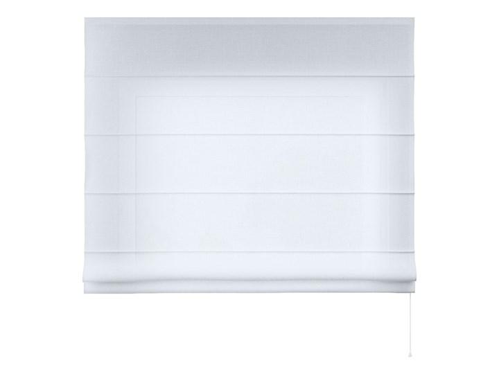 Roleta rzymska Billie, prześwitująca, biała, szer.100 × dł.170 cm, Sweet Secret Pomieszczenie Pokój przedszkolaka