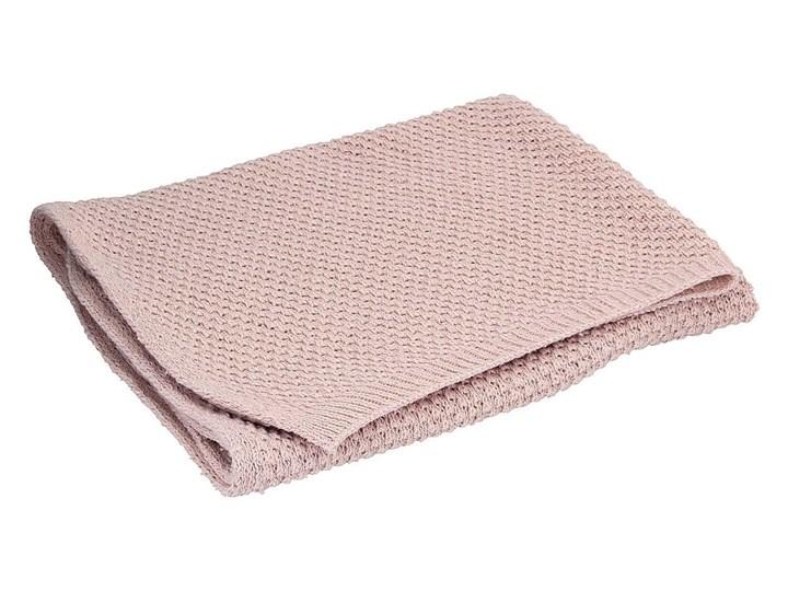 Pled Wooly pink, 110x0,5x86cm Poliester Akryl Kategoria Koce i pledy Wełna Welur Kolor Różowy