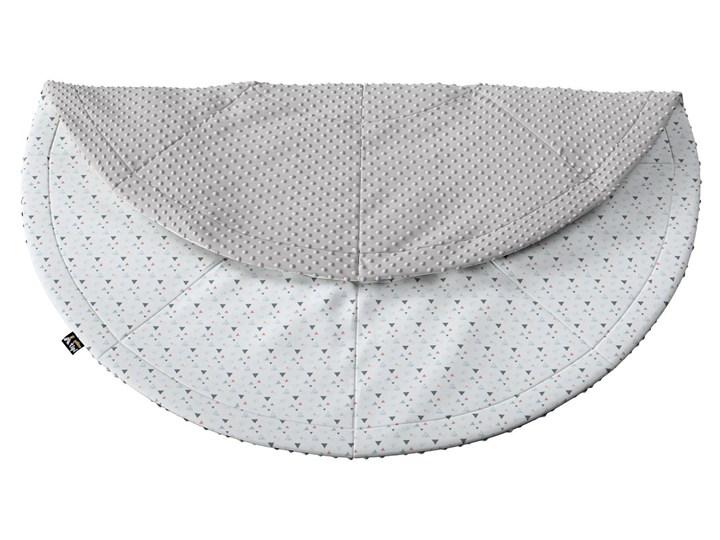 Mata okrągła, 130cm, Magic Collection Bawełna Syntetyk 130x130 cm Dywaniki Okrągły Kolor Biały
