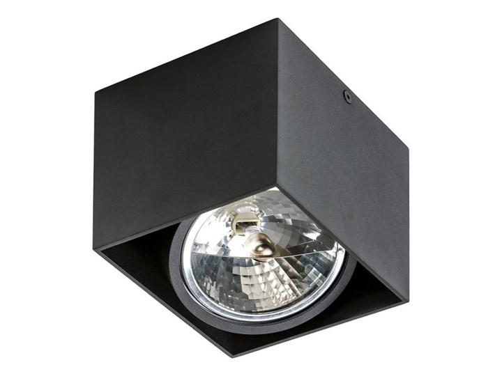 Azzardo AZ1358 - Plafon ALEX 1xG53/50W/230V Oprawa stropowa Prostokątne Kategoria Oprawy oświetleniowe Kolor Czarny