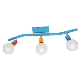 Dziecięce oświetlenie punktowe MORRISON 3xE27/60W/230V
