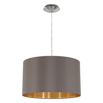 Eglo 31603 - Lampa wisząca MASERLO 1xE27/60W/230V