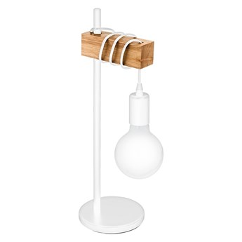 Eglo 33163 - Lampa stołowa TOWNSHEND 1xE27/10W/230V