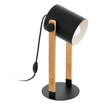 Eglo 43047 - Lampa stołowa HORNWOOD 1xE27/28W/230V