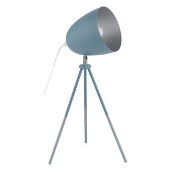 EGLO 49045 - Lampa stołowa CHESTER-P 1xE27/60W/230V