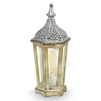 Eglo 49277 - Lampa stołowa KINGHORN 1xE27/60W/230V