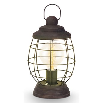 Eglo 49288 - Lampa stołowa BAMPTON 1xE27/60W/230V