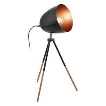 Eglo 49385 - Lampy stołowe CHESTER 1xE27/60W/230V
