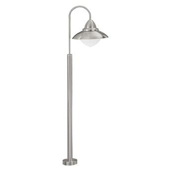 EGLO 83969 - Lampa stojąca zewnętrzna SIDNEY 1xE27/60W srebrny