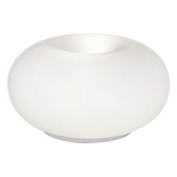 EGLO 86818 - Lampa stołowa OPTICA 2xE27/60W biały/opalone szkło