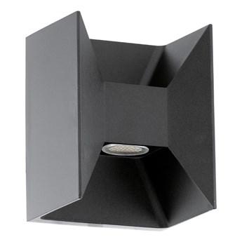 Eglo 93319 - LED lampa zewnętrzna MORINO 2xLED/2,5W/230V