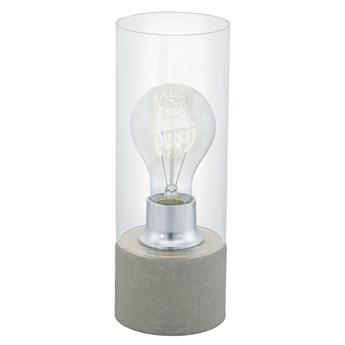 Eglo 94549 - Lampa stołowa TORVISCO 1xE27/60W/230V szary
