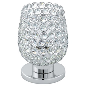 Eglo 94899 - Kryształowa lampa stołowa BONARES 1 1xE27/60W/230V