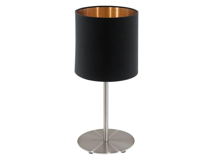 Eglo 94917 - Lampa stołowa PASTERI 1xE27/60W/230V Wysokość 40 cm Styl Nowoczesny Lampa z abażurem Lampa nocna Kategoria Lampy stołowe