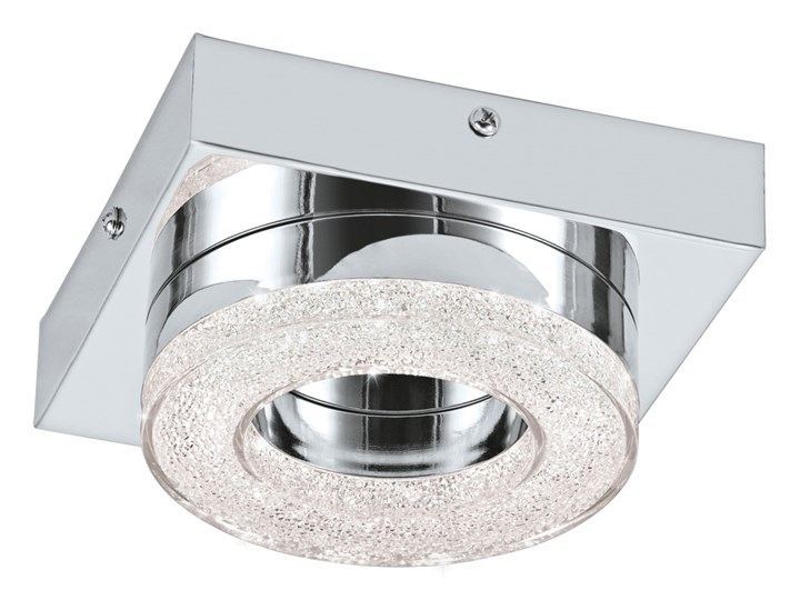 Eglo 95662 - LED Kryształowa lampa sufitowa FRADELO LED/4W/230V Tworzywo sztuczne Metal Szkło Styl Nowoczesny