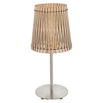 Eglo 96196 - Lampa stołowa SENDERO 1xE27/60W/230V